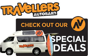 Travellers Autobarn - Special Offers