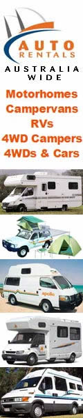 Hire a car, camper or motorhome at competative rates anywhere in Australia