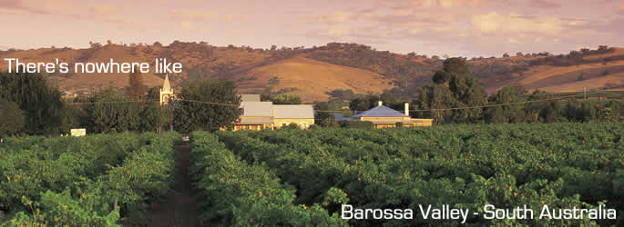 Come and holiday in Barossa Valley
