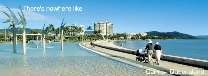 Come and holiday in Cairns QLD