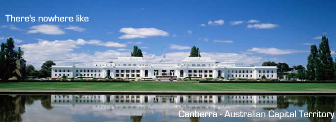 Canberra Accommodations and hotels ACT
