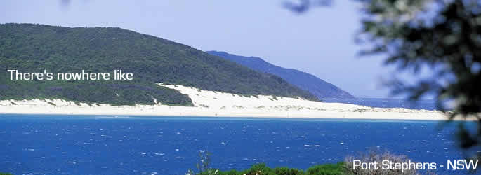 Come and holiday in Port Stephens  NSW