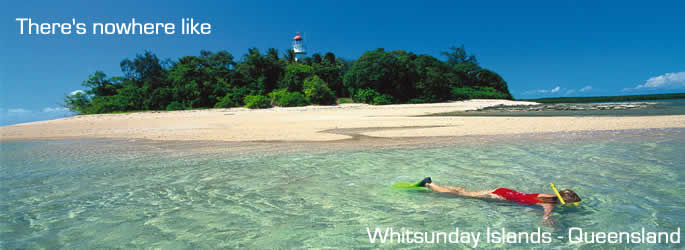 Come and holiday in Whitsunday Islands QLD