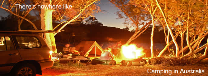 Come on a camping holiday in Australia