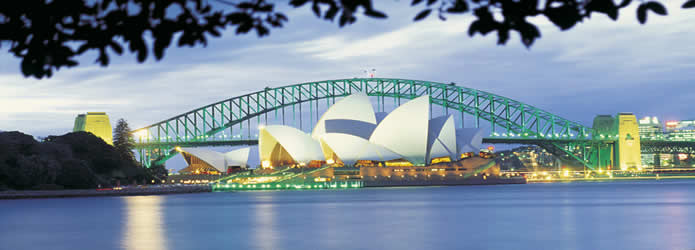 Sydney the exciting birthplace of our nation