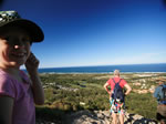 view from mount coolum