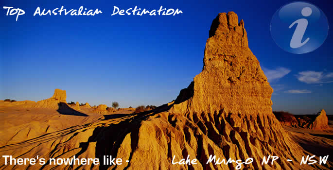 Lake Mungo National Park - NSW