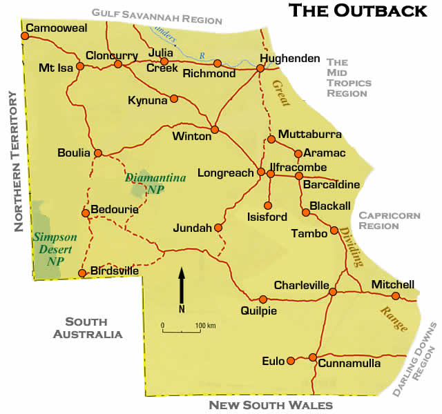outback queensland maps