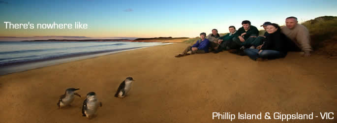 Phillip Island and Gippsland region Victoria