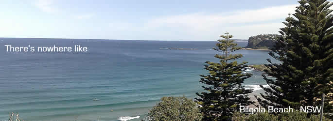 Visit beautiful Bilgola Beach for your next holiday