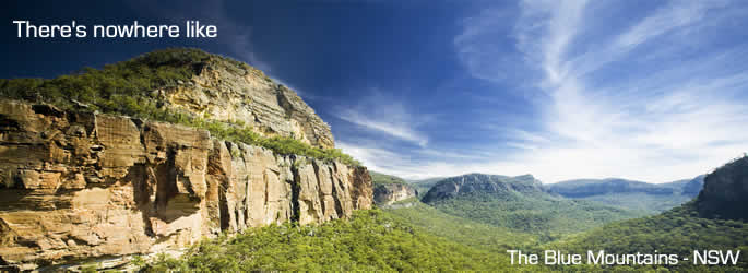 Getaway to the Blue Mountains in NSW