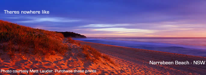 Visit beautiful Narrabeen Baech for your next holiday
