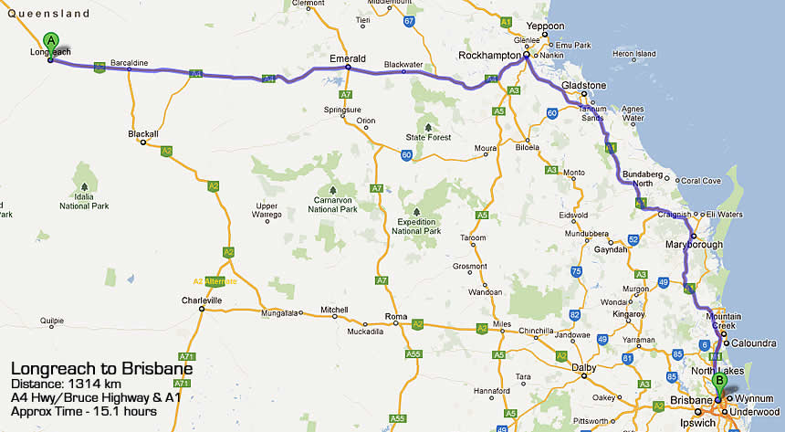 road map 1 road map 2 road map 3 brisbane to darwin road map